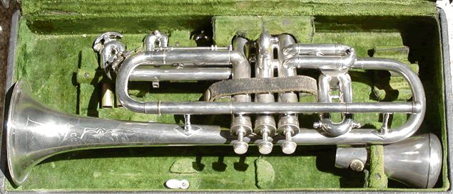 Conn 10A Wonder Vocal Cornet in C, Bb and A (LP) 1921