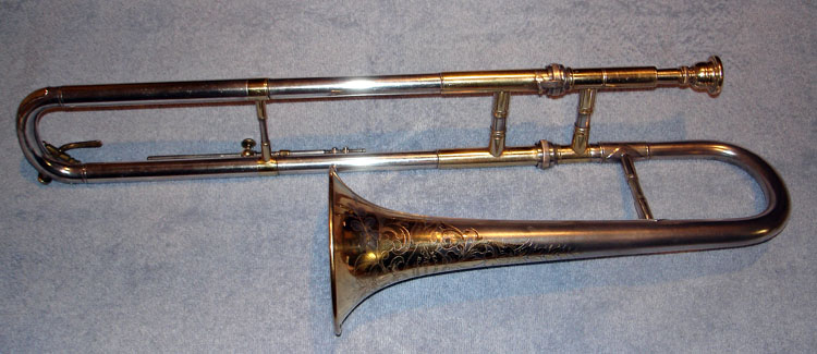 Conn 17A Wonder Slide Cornet 1921