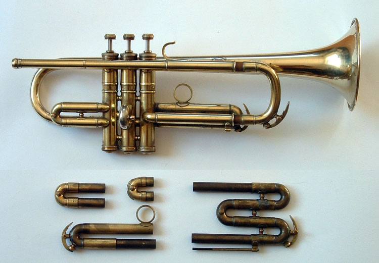 Conn 18B C, Bb & A Glantz Model 1936