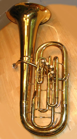 Conn 23I Artist Bell Up Bb Euphonium 1957