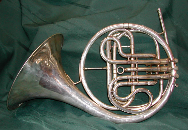 Conn 2D Wonder F-Eb-D Piston Valve French Horn 1920's