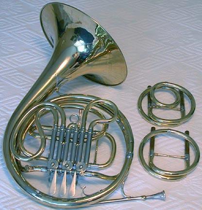 Conn 4D F-Eb-D Single French Horn 1929