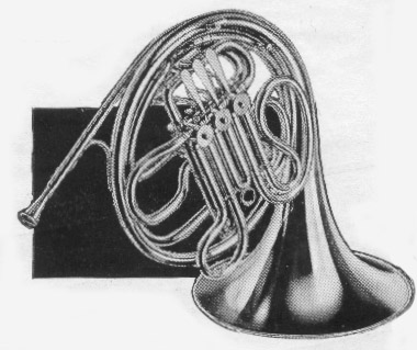 Pan American 52D F-Bb Double French Horn 1938