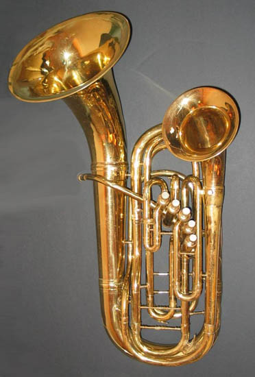 Conn 60I Wonderphone Double Bell Front Bb Euphonium 1933