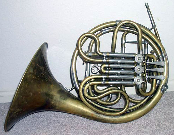 Conn 6D New Wonder F-Bb Double French Horn 1934