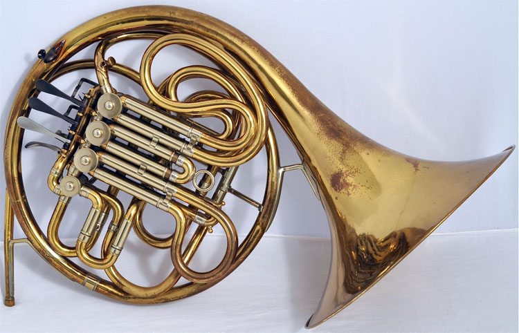 Conn 6D Artist F-Bb Double French Horn 1935