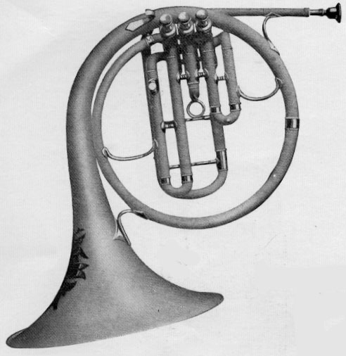 Conn 6E New Wonder Eb French horn Alto 1924