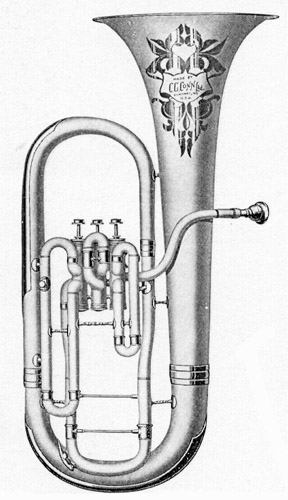 Conn 80I New Wonder Bell Up Bb Euphonium 1926