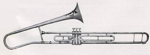 Conn 8G/9G Italian Model Valve Tenor (drawing)