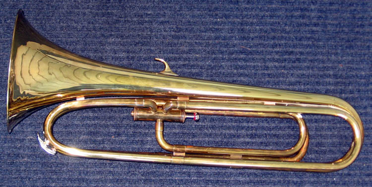 Conn 92L French horn type Baritone Bugle in G-D