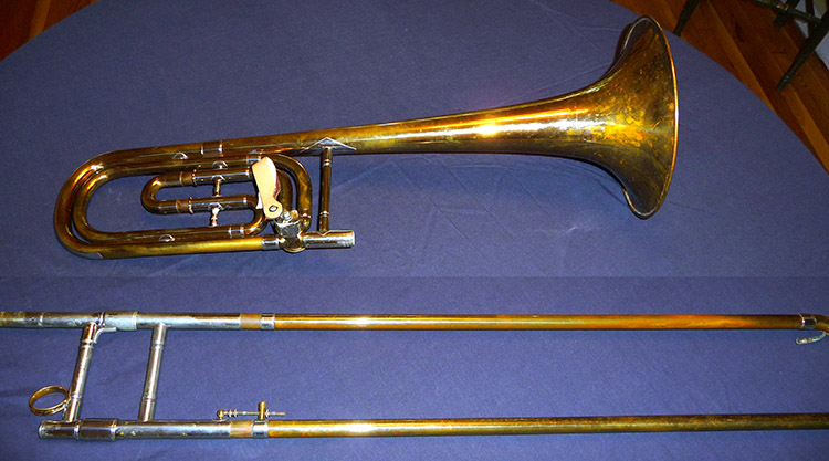 Conn New Wonder Bass Trombone 1917